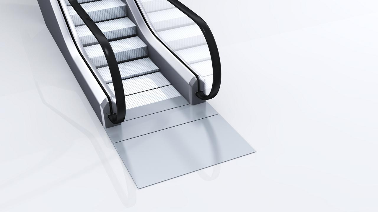 escalator background layer