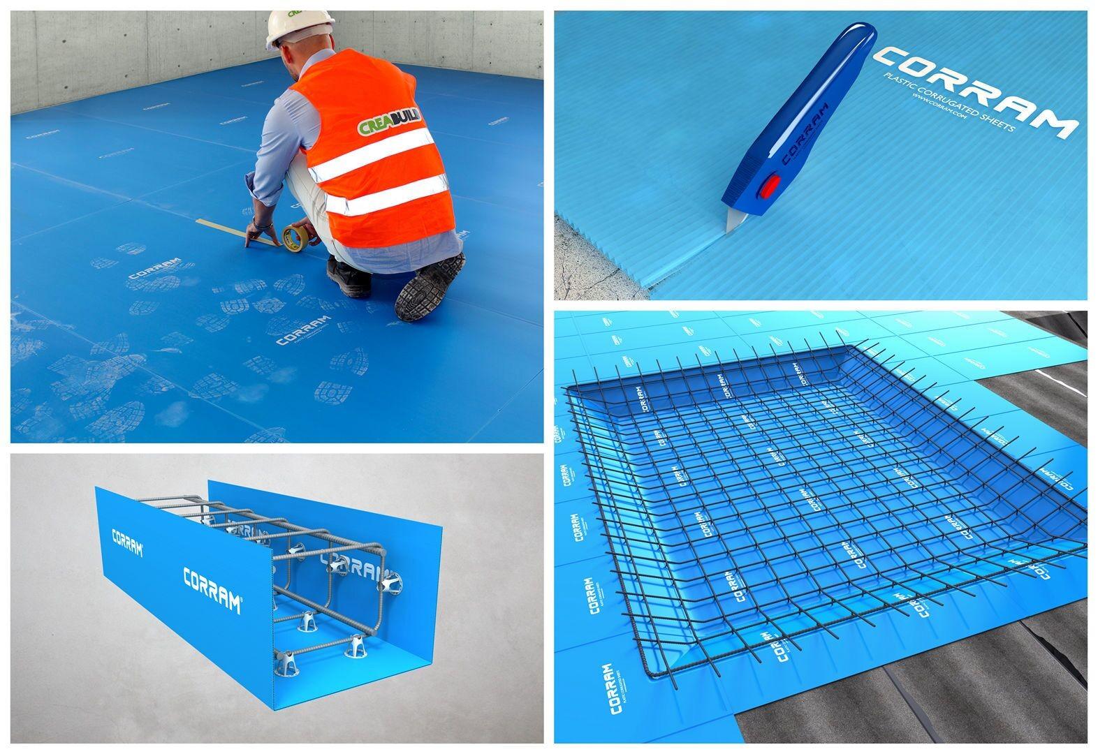 Pp Corrugated Sheet Supplier And Manufacturer Creabuild